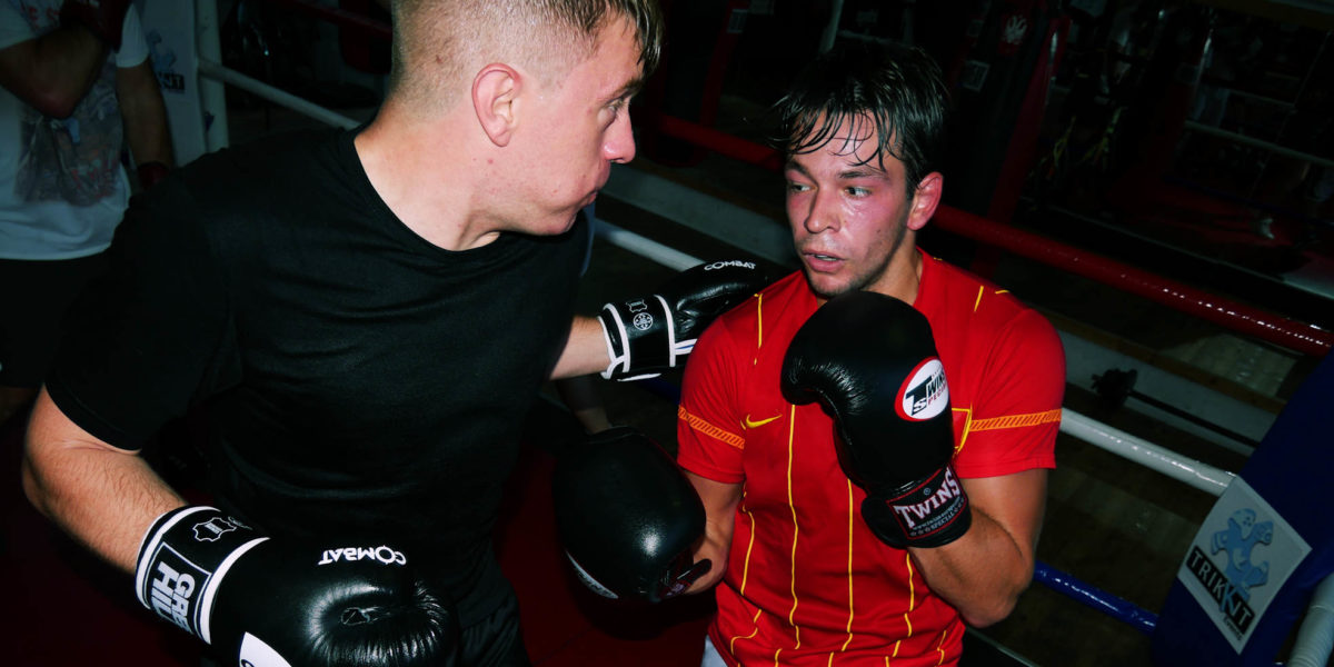 amateur boksen in rotterdam leons boxing gym