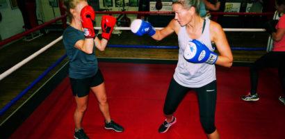 dames boksen bokstraining rotterdam leons boxing gym