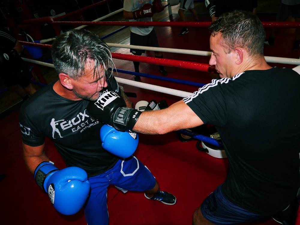 gevorderden boksen in rotterdam leons boxing gym