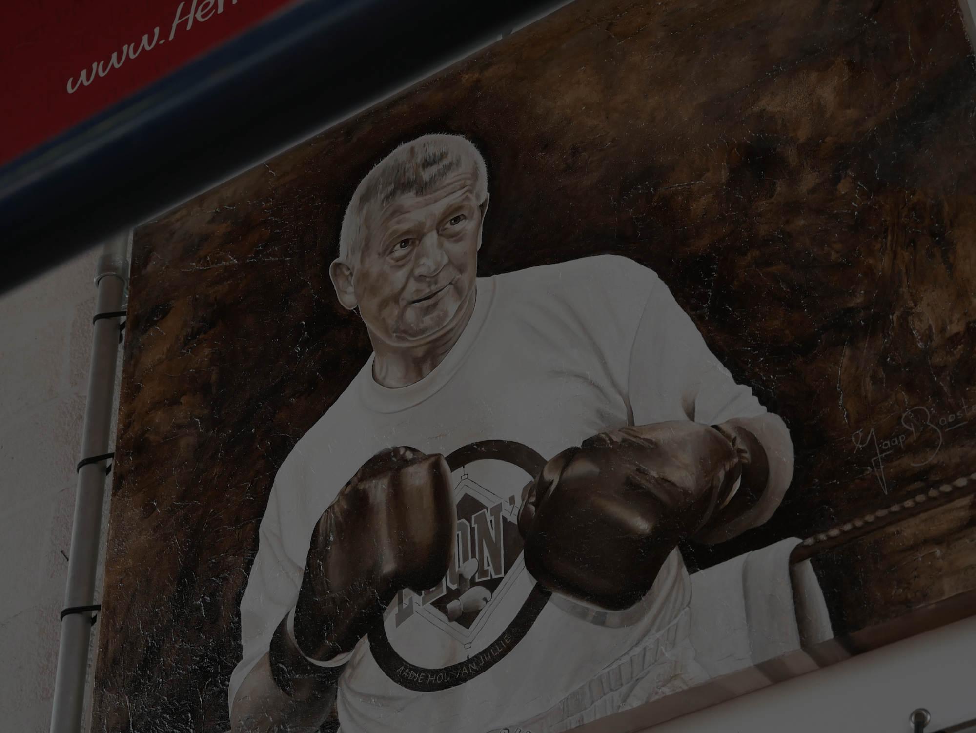 aad jansen boksen rotterdam leons boxing gym